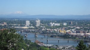 Portland from the Aerial tram