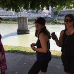 Our first Rick Steves audio tour in Salzburg