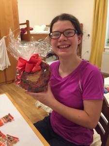 Heidi's gummy birthday cake