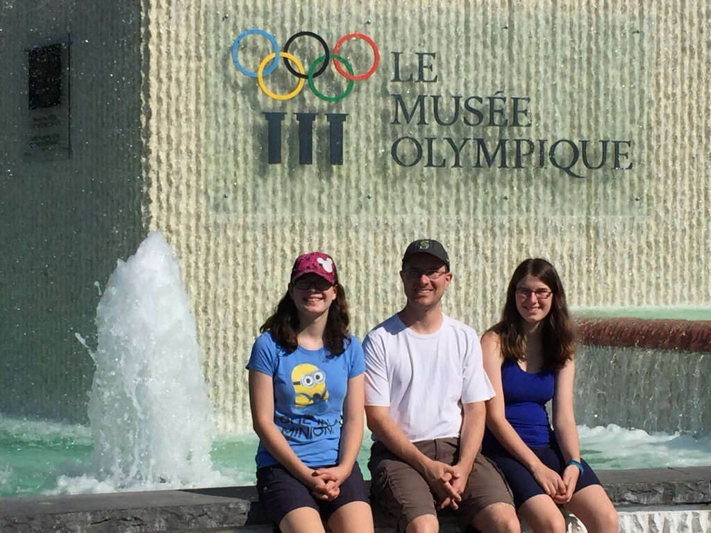 Visiting the Olympic Museum in Lausanne